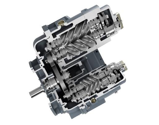 compresor exento de aceite Serie D