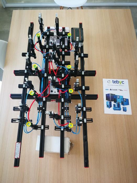 fabricación de manopresas TEBYC